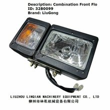 Combination Lamp Light Front Flo Liugong Spare Parts Transmission Construction Equipment Sale Liugong Wheel Loader Parts 32B0099