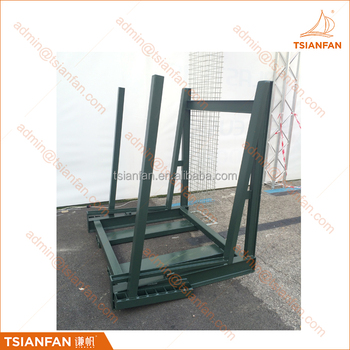 Heavy Duty Glass and Stone Slab Transport and Showroom Display Rack