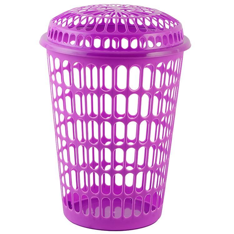 Pink Plastic Laundry Basket New Plastic Flexible Round Cane Plastic Laundry Basket Buy Laundry