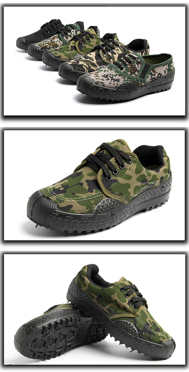 Agricultural work boots fabric shoes boots military