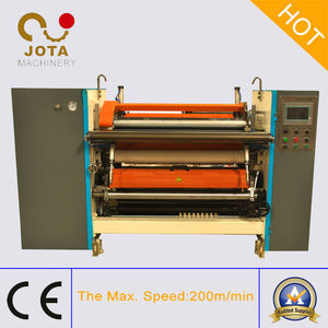 Meter Counter Tracking NCR Paper Roll Slitting Rewinding Machine