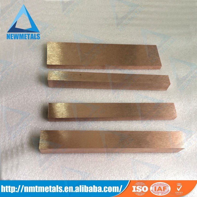 W75Cu25 tungsten copper alloy strip