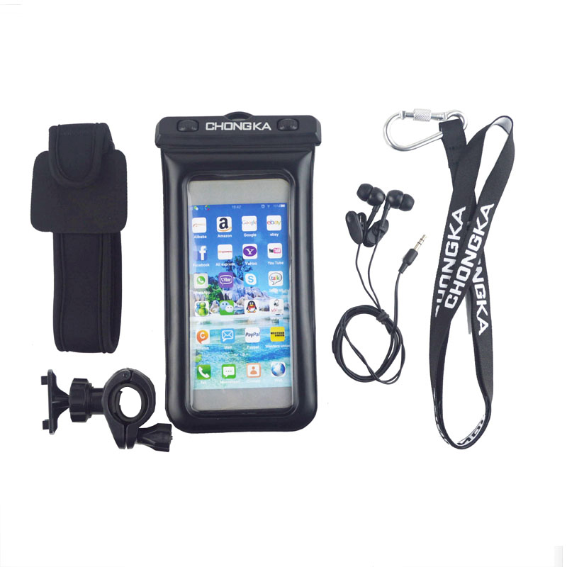 Hot Sale Waterproof Phone Case Anti-Water Pouch Dry Bag Cover for Mobile Phone