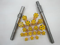 high quality carbide button drill bit and rods for sale