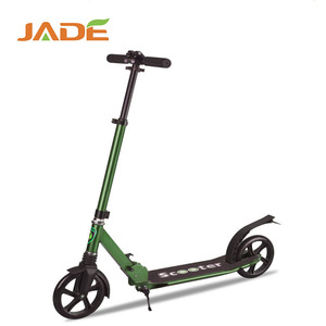 New design stunt scooter PU wheel kick dirt scooter stand up adult scooter