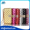 For Samsung S7 edge leather case diamond button lady's mobile phone flip leather case