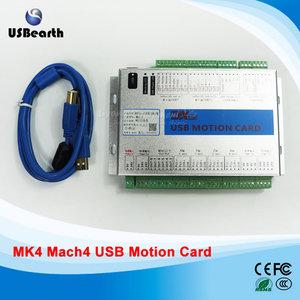 Original XHC MK4 4axis CNC Mach4 USB Motion Control Card Breakout Board  2MHz Support Win7