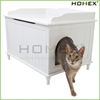 Wooden pet cat cage cat condo cat house Homex_BSCI Factory