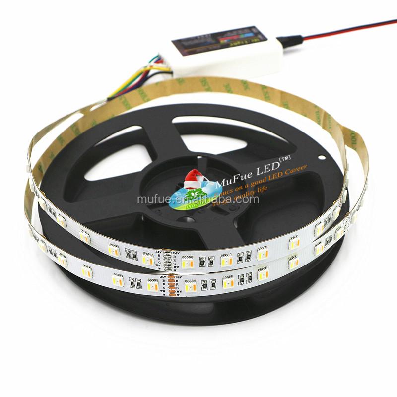 Lights 5 colors in 1 led RGB+WW+CW/RGB CCT 60leds/m SMD5050 led strip light
