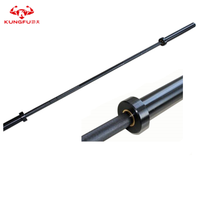 2.2m and 2.01m 8 Bearings Black Oxided Weightlifting Barbell Bar