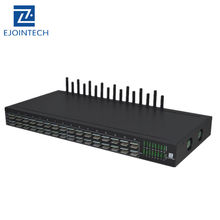 Ejoin 16 port Internet VOIP gateway, provides SMPP/HTTP API, supports IPPBX/IP Phon/Asterisk/SMS system