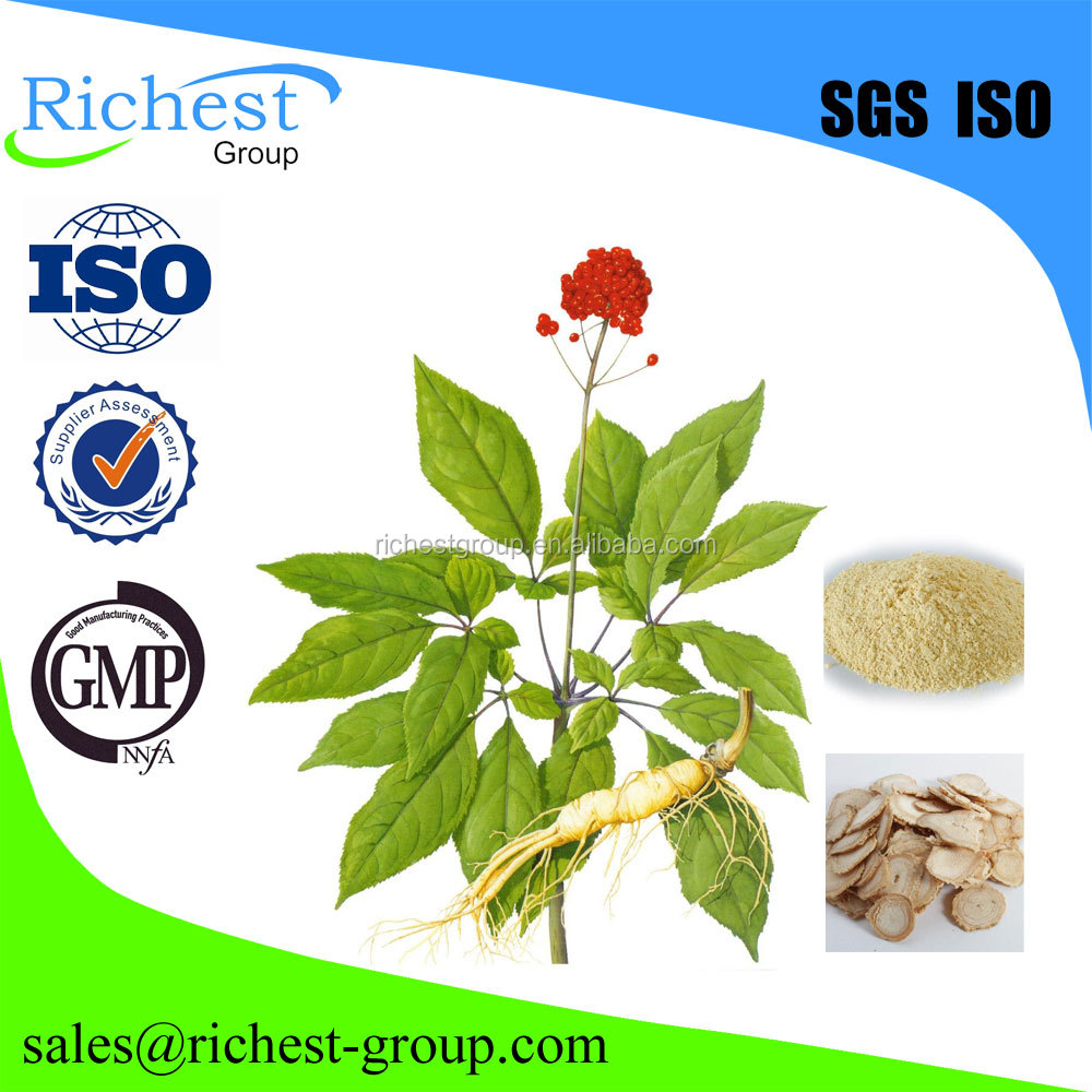 HIgh quality 80% Ginseng Root Extract