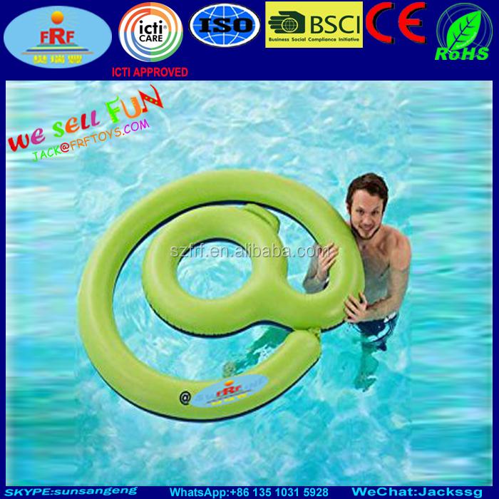 Aufblasbare zeichen schwimmbad spa float for Aufblasbares schwimmbecken angebote