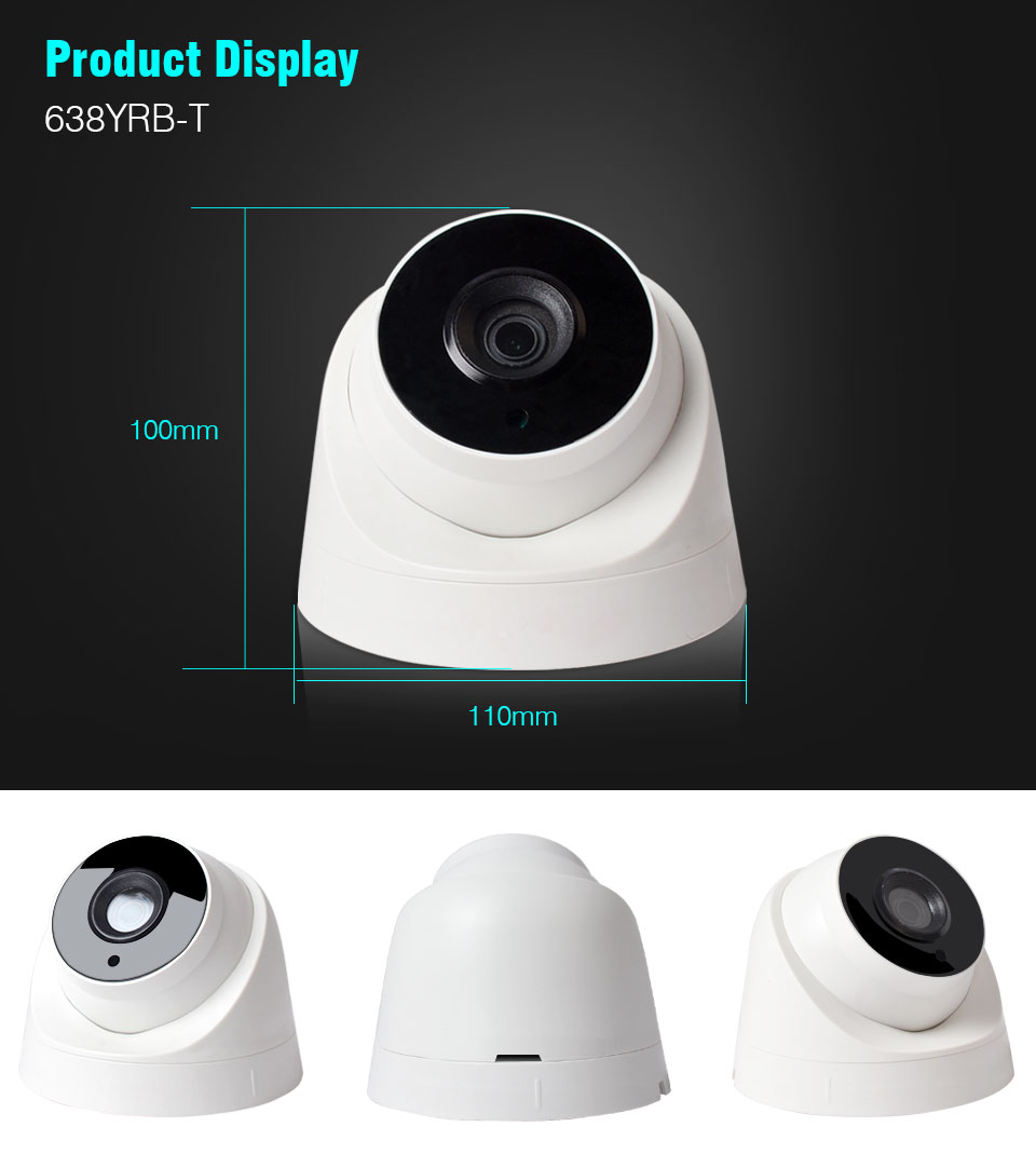 JOOAN 2017 New dome HD Security System AHD 2MP CCTV Camera indoor/Outdoor CE,FCC,ROHS, ISO Certification