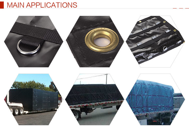 China Supplier Lightweight Truck Lumber Tarp