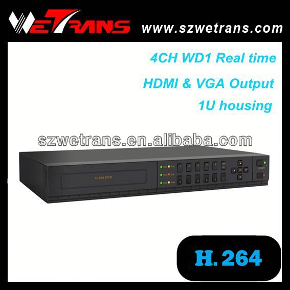 WETRANS TD-5304C with audio WD1 960H 4ch/8ch/16ch h.264 standalone cctv dvr
