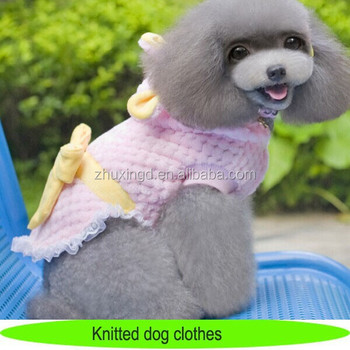 Knitting Patterns For Dog Clothespink Crochet Dog Clothes With