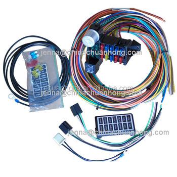 wire harness box 14 circuit fuse box universal wire harness kits muscle car hot rod wire harness board accessories wire harness kits muscle car hot rod