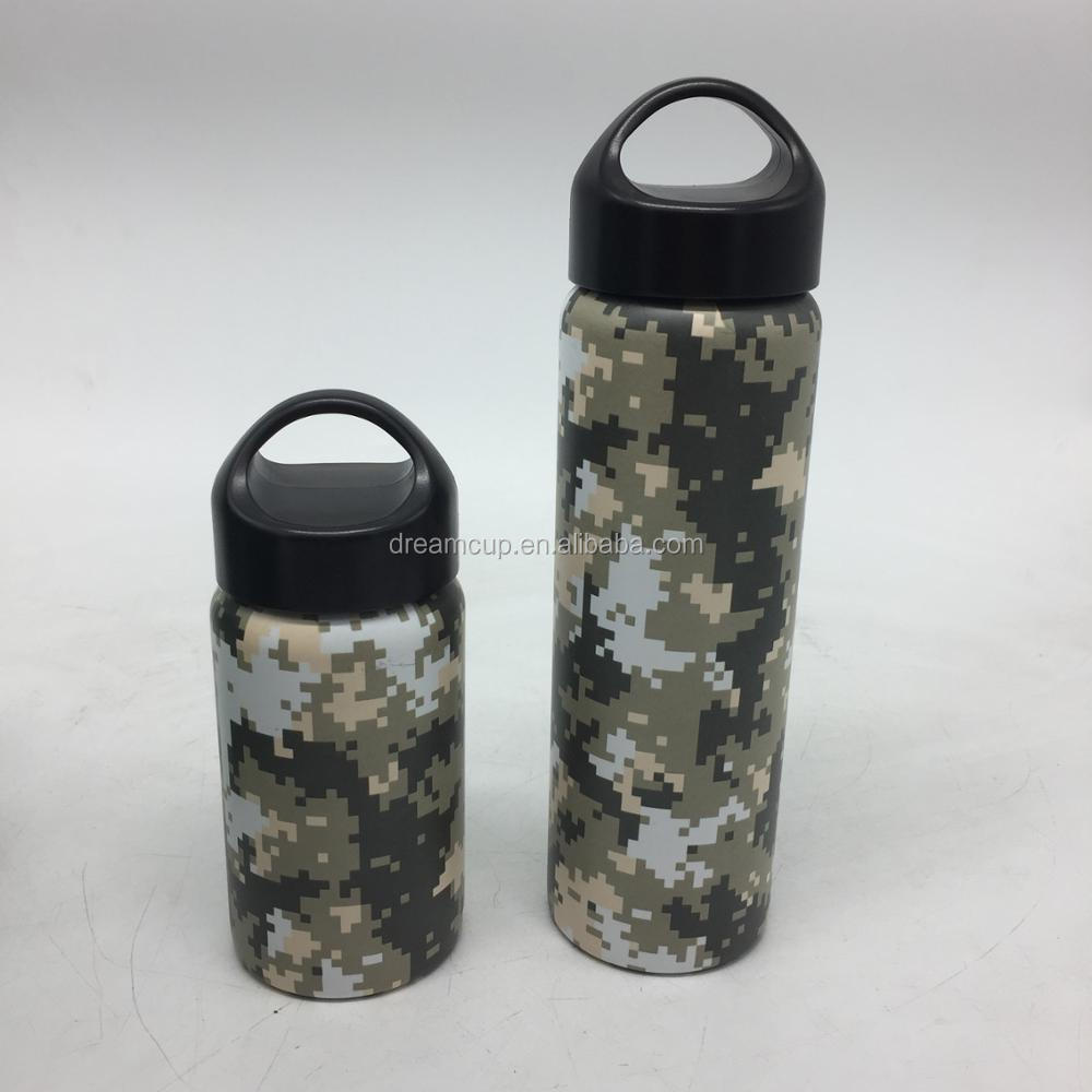 1000ml New product food grade stainless steel large sports water bottle