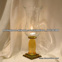 GLASS CANDLE HOLDE