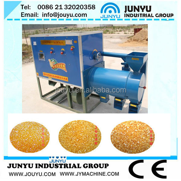 15TPD maize meal milling machine Corn grits making machines