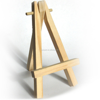 Kids Mini Wooden Easel Stand Painting Craft Exhibit Display Sturdy