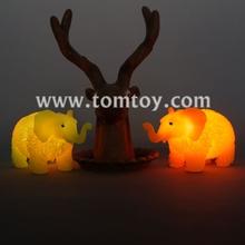 TPR éléphant clignotant Balle Puffer jouet pour enfants en plastique souple