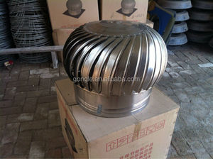 factory price ventilation non power roof top fan for greenhouse