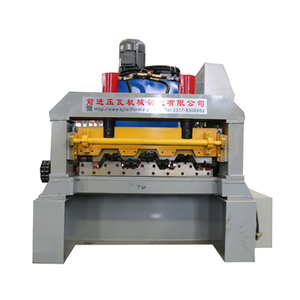 Zinc Roof Panel Floor Deck Roll Forming Machine And Equipment