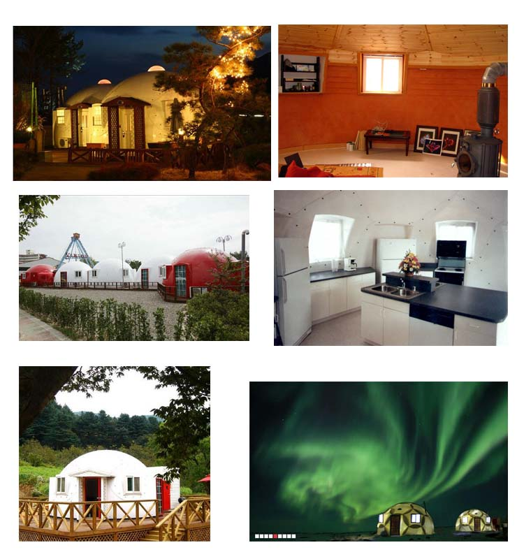 Prefab Dome Homes: Quick Assembled Prefab Fiberglass Mars Dome Houses