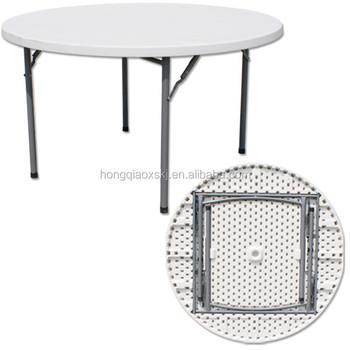 Vendita Tavoli Gambe Pieghevoli.Pannello In Plastica Formato Rotondo Tavolo Pieghevole In Metallo