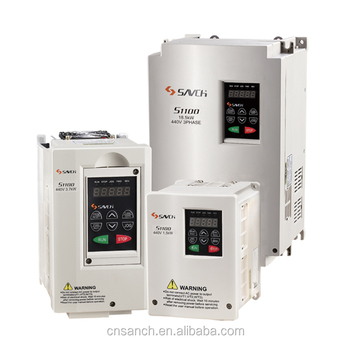 Sanch S1100 0.75kw ISO/CE Certificated general purpose 380v~480v 3 phase ac variable frequency drive for electric motor
