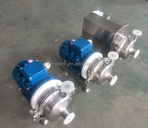 China cheap price sanitary SS304 SS316L food grade Magnetic drive pump