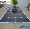 High efficiency light weight Semi flexible solar panel supplier China Factory