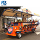 12 person touring mobile trolley cycle pedal party crawler bar bicycle pub crawl, sightseeing bike, pub bike for sale