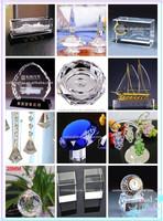 3d Laser Crystal Glass Cube With Led Light - Buy Laser Etched ...