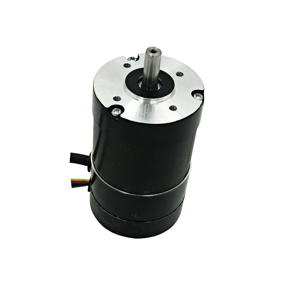 Nema 23 round closed loop brushless dc motor with encoder