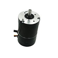 Nema 23 round closed loop brushless dc motor with encoder