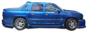 2002-2006 Chevrolet Avalanche (w / o cladding) Duraflex Platinum Side Skirts Rocker Panels - 2 Piece