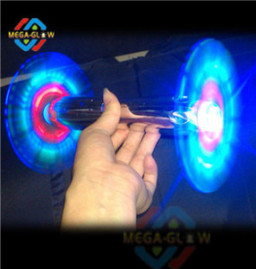 2014 windmill double-end LED flashing spinner