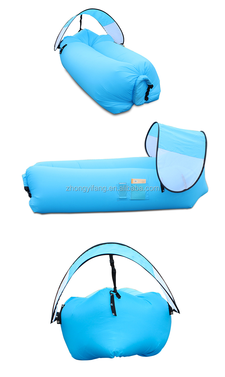 Portable inflatable air sofa camping inflatable air lounger