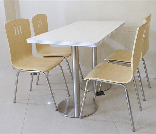 Exceptionnel Stainless Steel Dining Table And Chair Sets