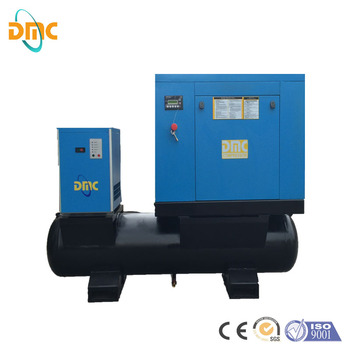 screw air compressor with dryer