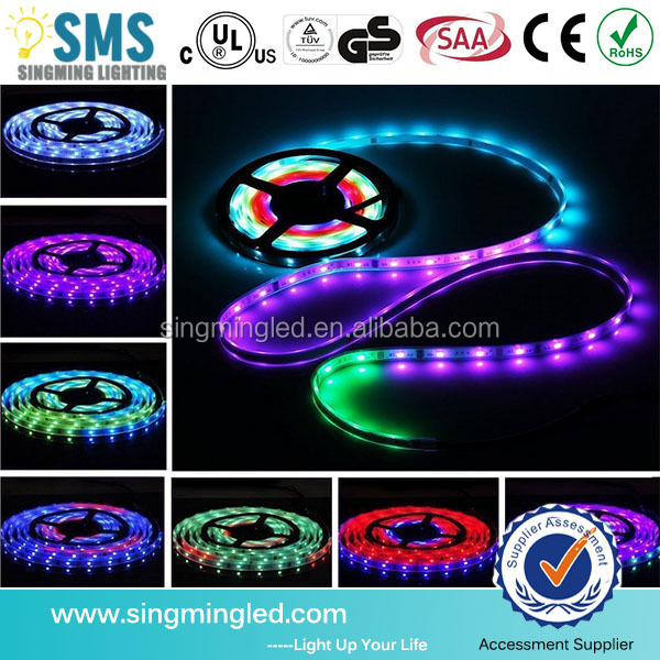 factory price 2 years warranty AC220V SMD 5050 RGB Flexible LED Strip Light