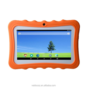 Made in China tablet 7 inch colourful shell android tablet kids tablet pc