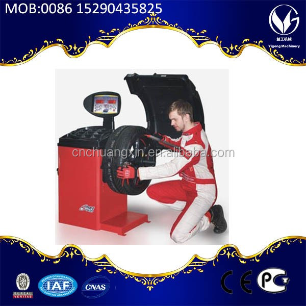 customized red blue yellow color car truck wheel balancer price
