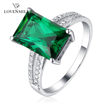 Green Stone Ring Emerald Ring Latest Silver Ring Design Buy