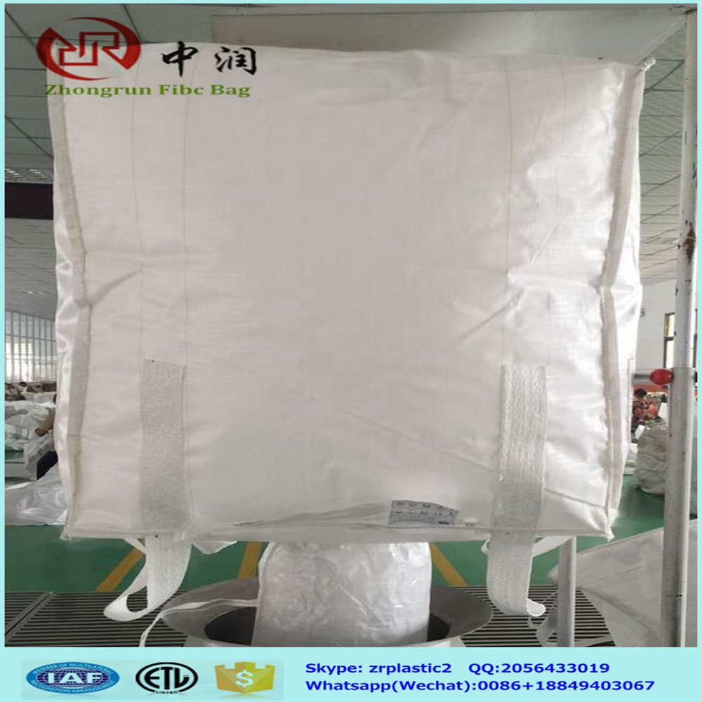 2016 lower price 1 ton 1.5ton jumbo bag pp big bulk bag 300kg to 3000kg for cement,lime,coorper concentrate, stell,sand,slilica