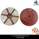 5 Triangle Segments Petal Shape Snail Lock Metal Bond Floor Polishing Pads Diamond Concrete Tools for Stone