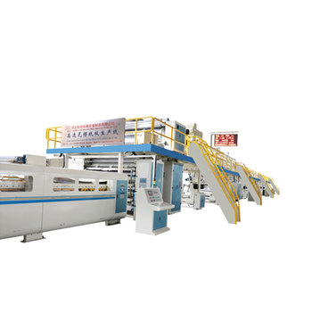middle size carton box printing machine fruit paperboard type WJ width 1800 speed 180m/m corrugated paperboard production line